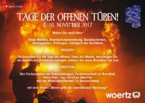 Einladung Woertz Tage der offenen Türen 2017