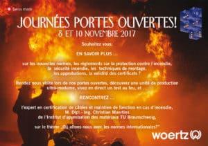 Invitation portes ouvertes Woertz 2017