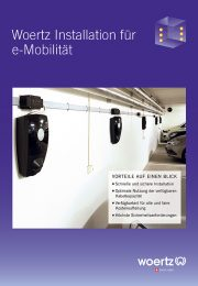 Broschuere E Mobiliät Ladeinfrastruktur