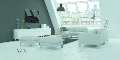 moderne helle Dachgescho Wohnung