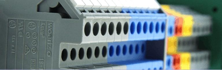 reihenklemmen elektroinstallation